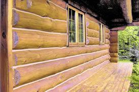 Log Home Repairs in Kingston, ON