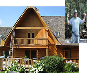 Log & Wood Home Restoration in Mississauga